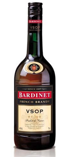 Bardinet V.S.O.P. French 80@ Brandy 750ml